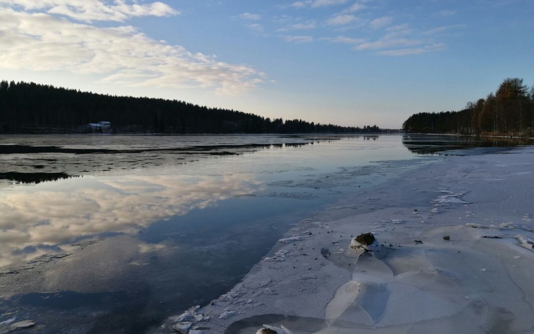 Ounasjoki has been Iced