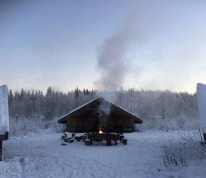 Laavu, Polar Night.