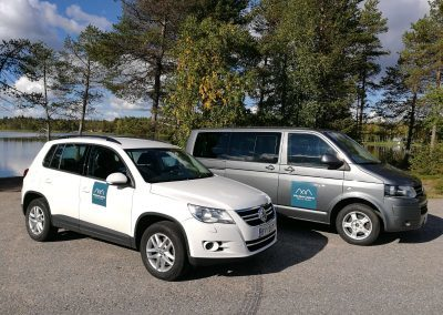 Wild About Lapland cars