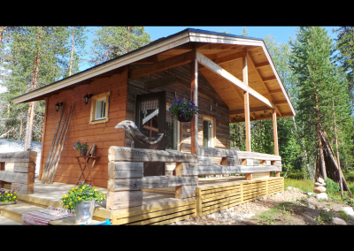 The sauna Cabin
