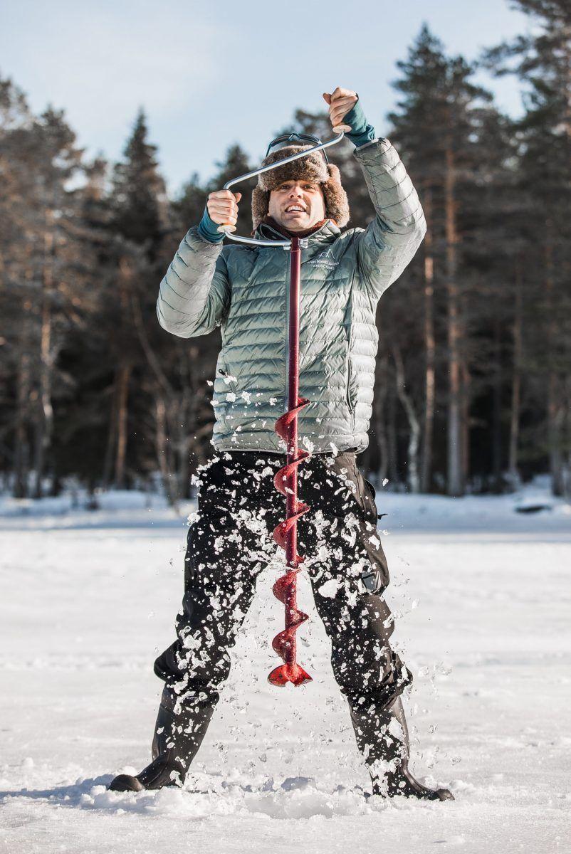 Ice-fishing Lapland Rovaniemi