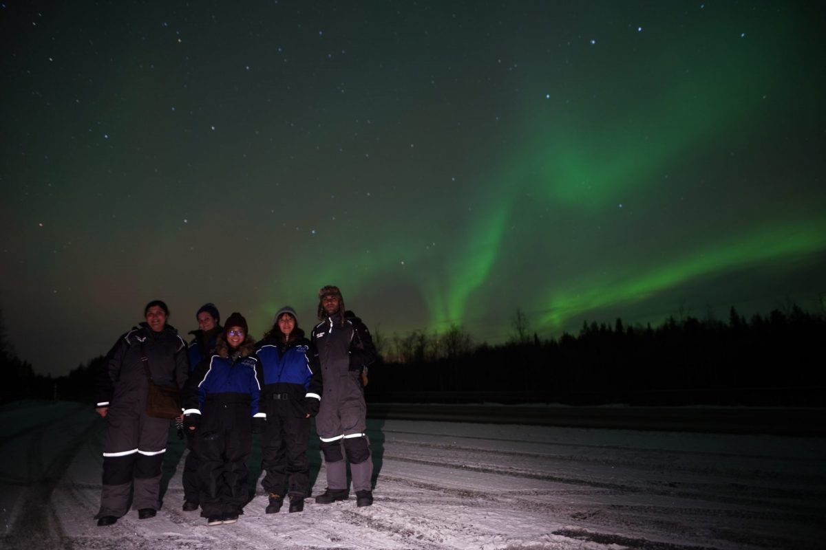 Group Pictures Northern Lights