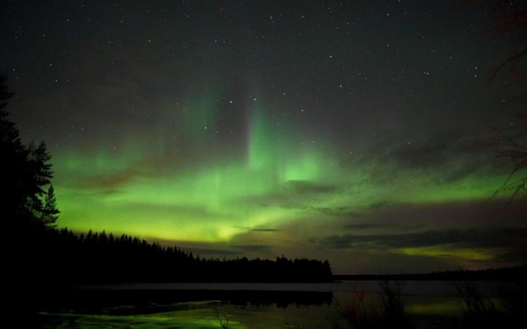 Northern Lights october rovaniemi