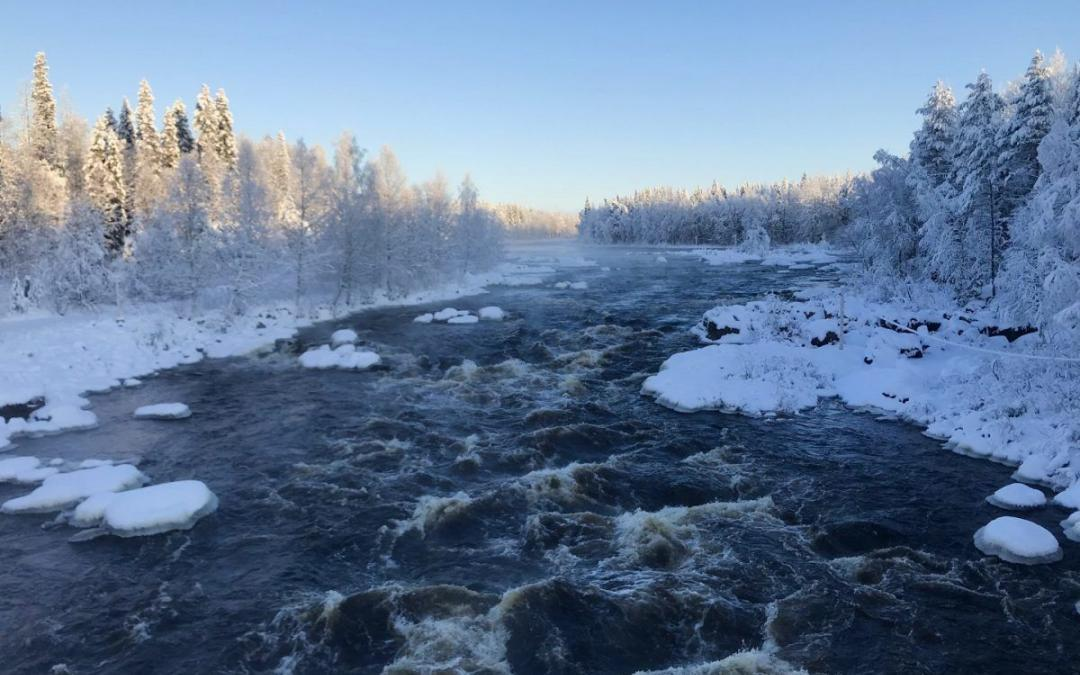 Winter has arrived in Lapland