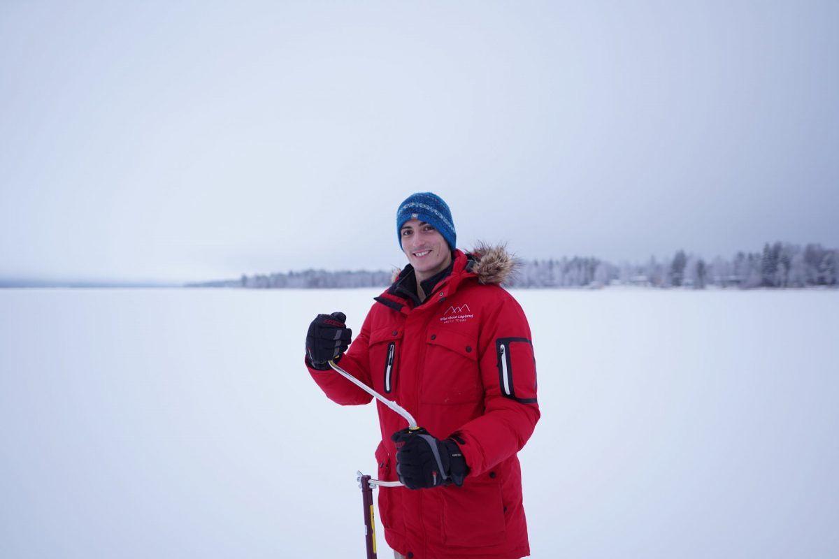 Ice Fishing in November