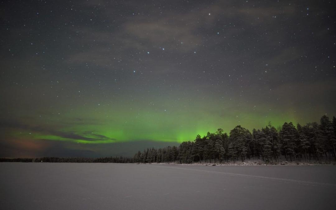 Northern Lights november Rovaniemi