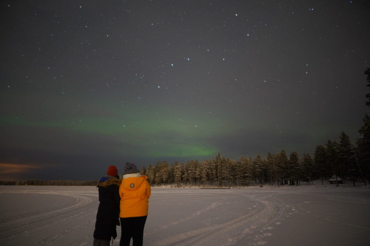 Northern Lights are back to Lapland