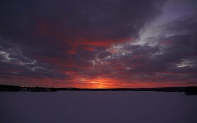 Winter Solstice on the Arctic Circle!