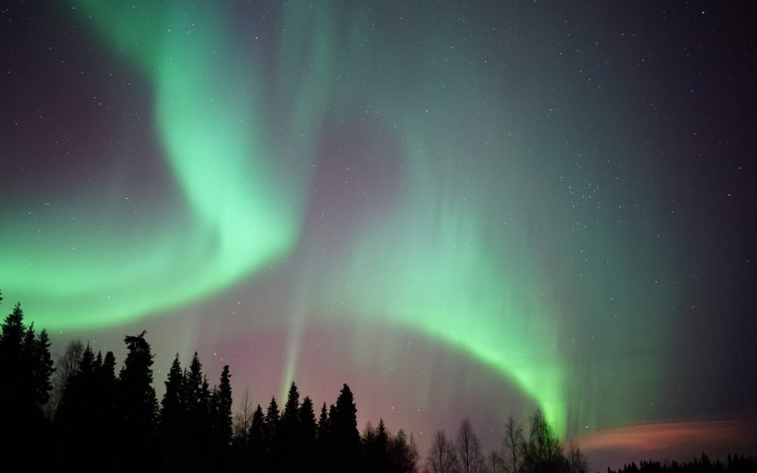 Amazing Northern Lights in Rovaniemi