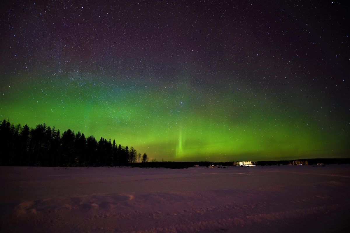 Northern Lights from Rovaniemi