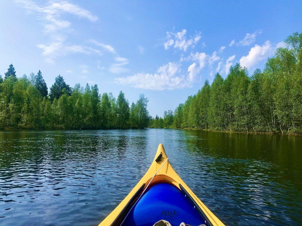 Canoe Lapland Rovaniemi