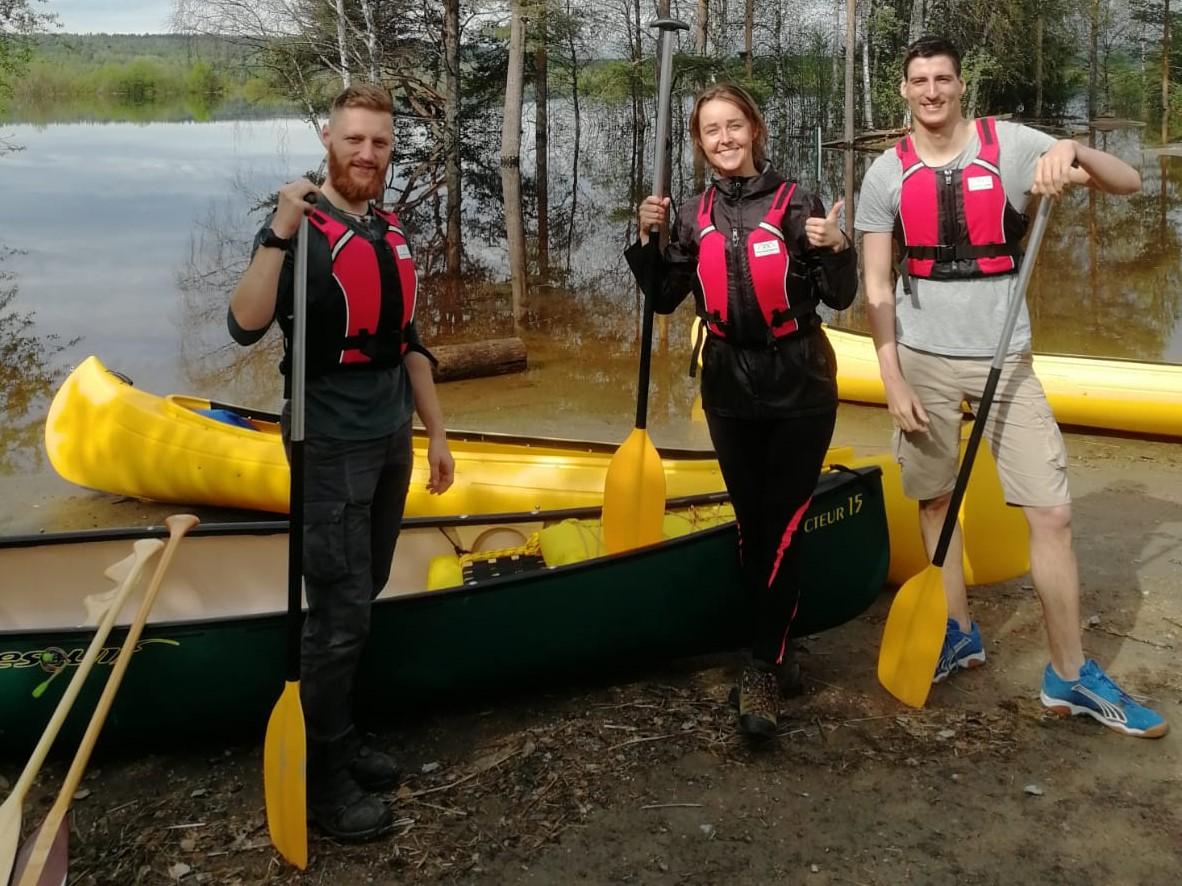 Canoe rental vuokraus kanooti
