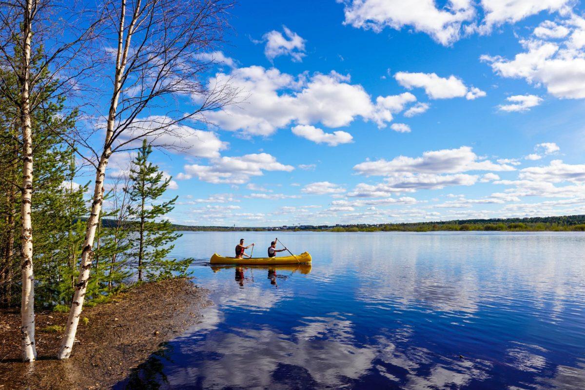 Wild About Lapland Canoe (2)