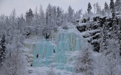 Korouoma Canyon – Frozen Waterfalls Hike