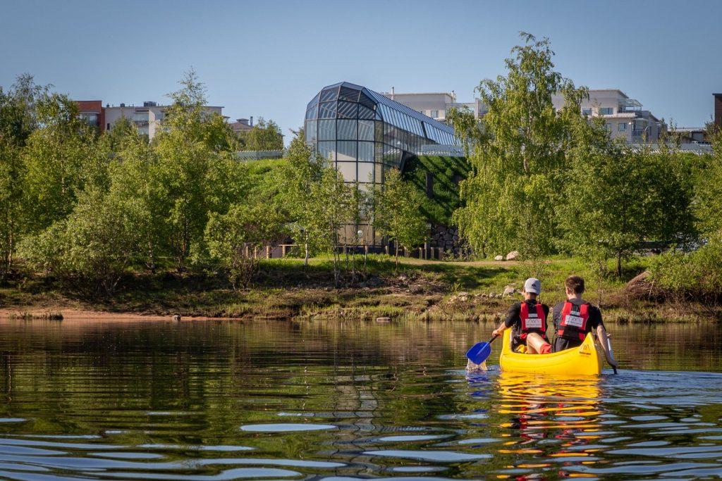 cultural canoe trip