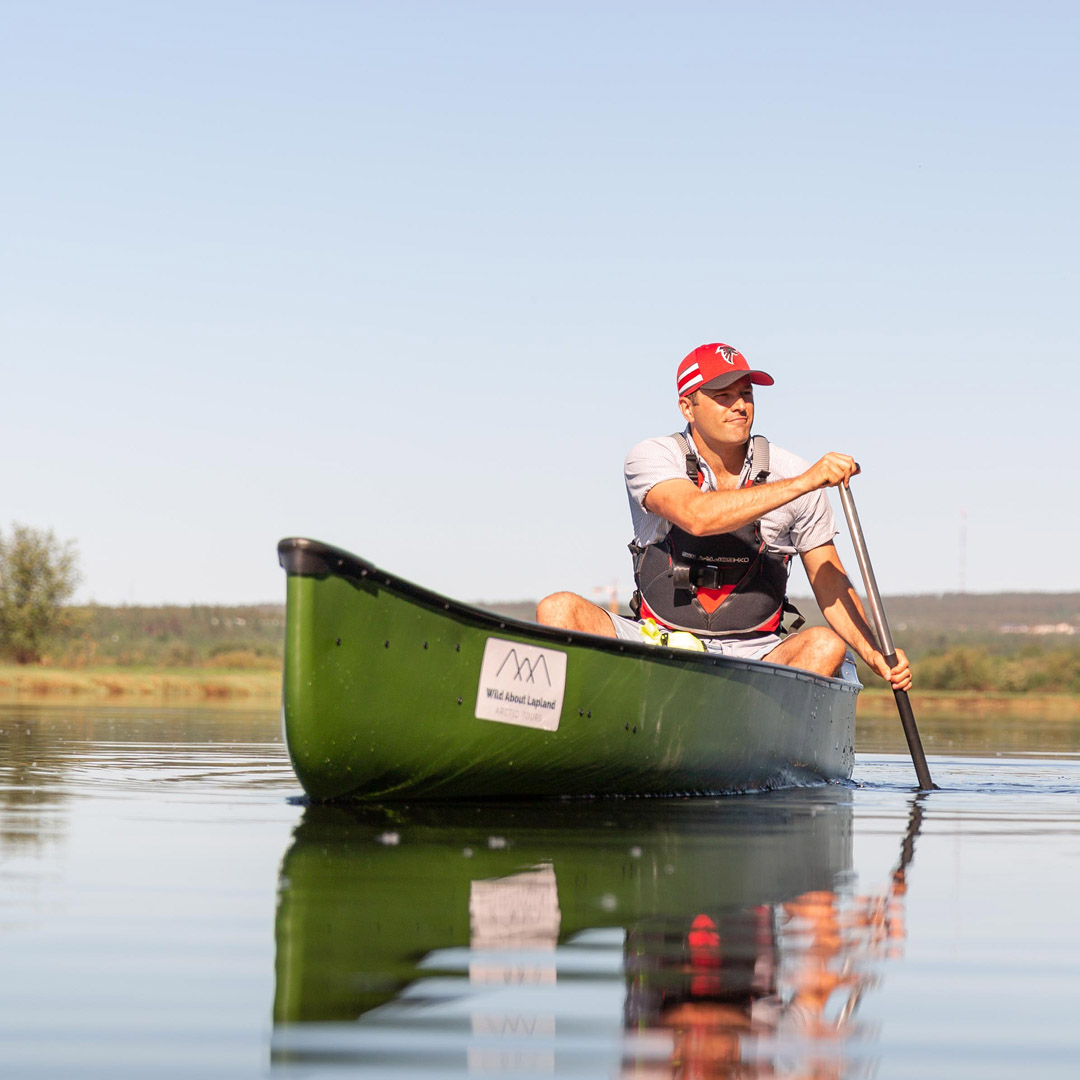 Theo enjoying the boating