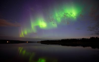 The silent beauty of Lapland – the Northern Lights season is on!